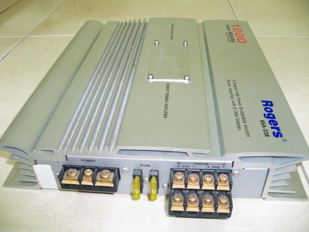 Rogers RSA-238 Power Amplifier (Used) 105_2916