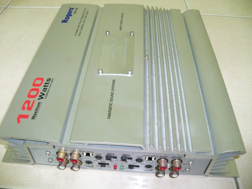 Rogers RSA-238 Power Amplifier (Used) 105_2917
