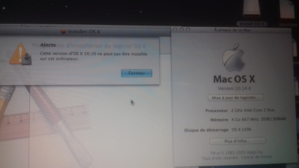 [résolu]Installation OS X Macbook A1181 15996611