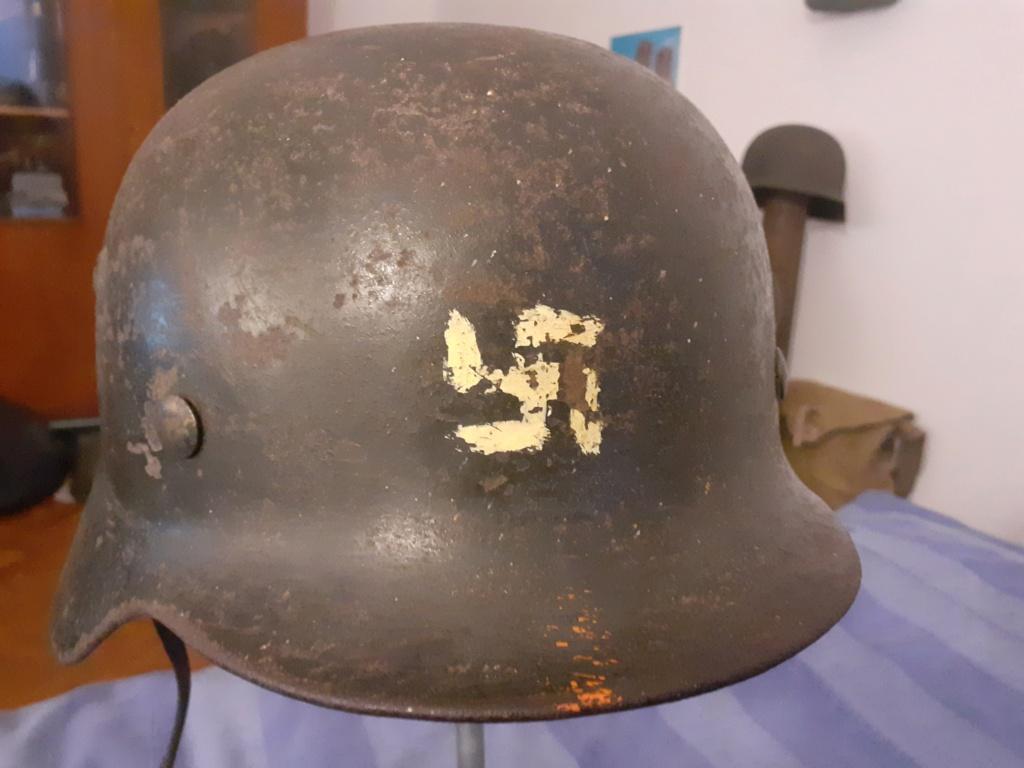 Casque Luftwaffe avis sur des marquages Casque23