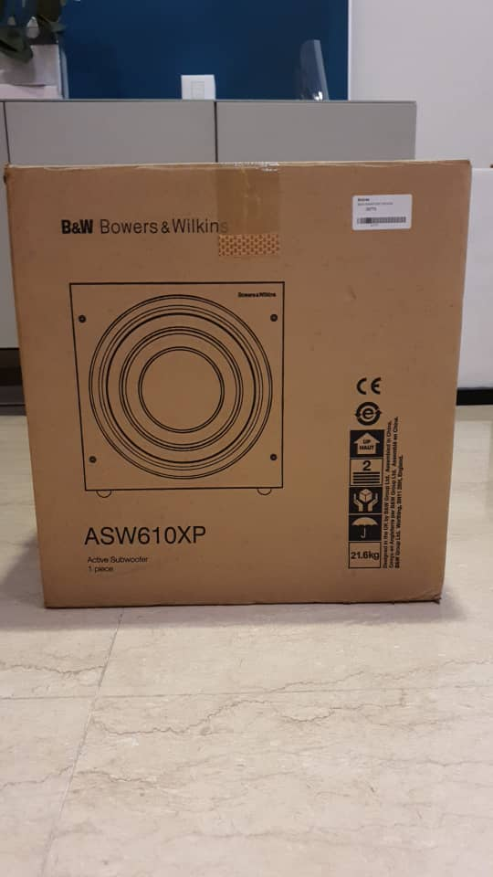 Bowers & Wilkins ASW610XP Subwoofer 78364310