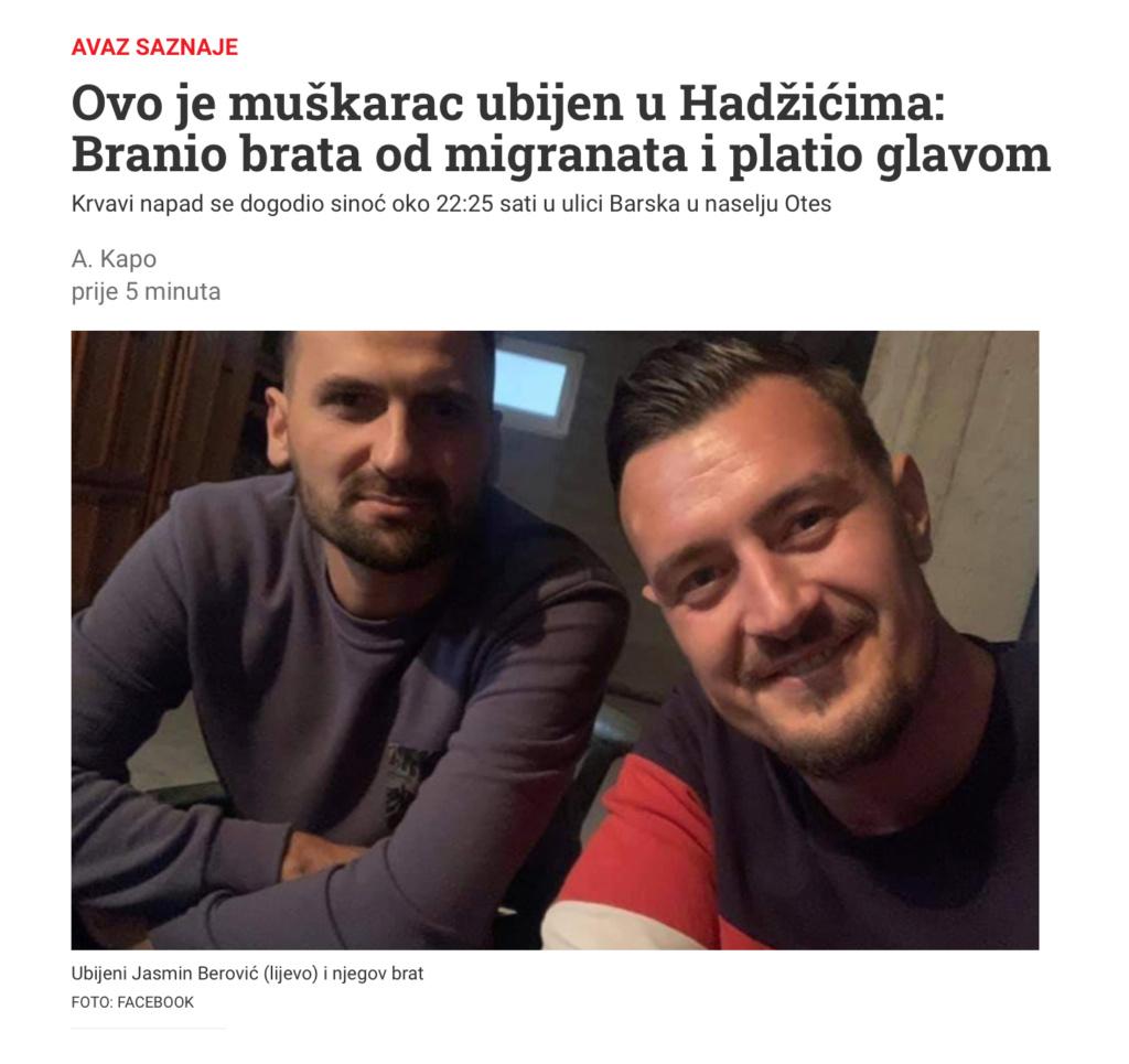 Ilidža: Migranti ubili 36-godišnjaka iz Hadžića 1926d110