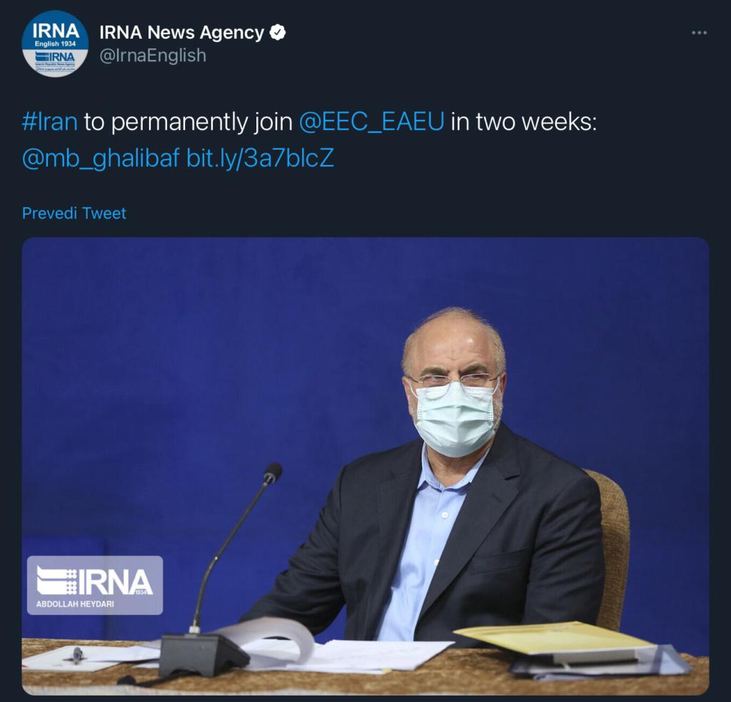 Za dva tjedna Iran ulazi u Euroazijsku Uniju 24842510