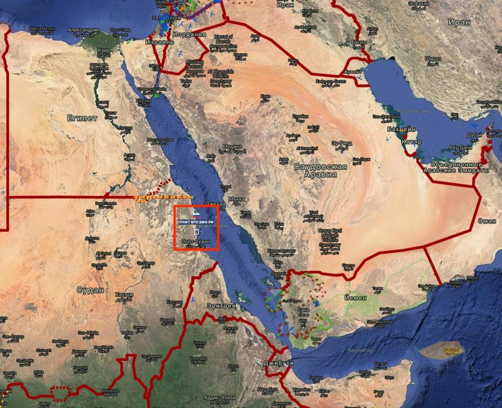 Rusija gradi mornaričku bazu u Sudanu E18dd110
