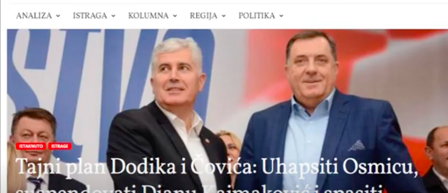 Uhićen Izetbegovićev najbliži suradnik Osman Mehmedagić Osmica, direktor OSA-e Slika100