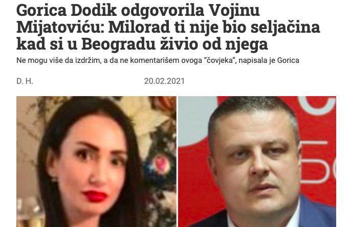 Vojin Mijatović: Milanović je luđak! Komšić: Milanović je gori od Vučića! Slika145