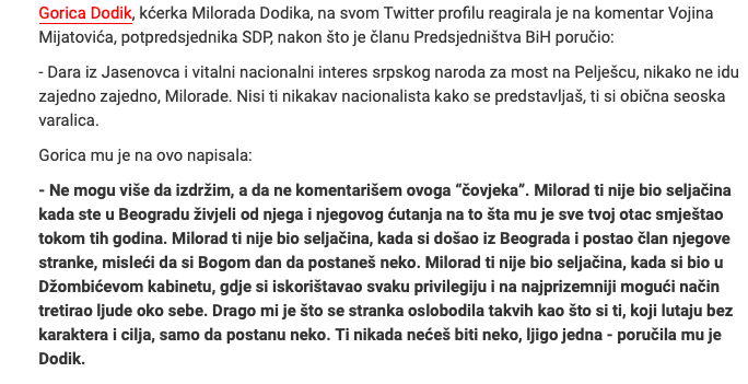 Vojin Mijatović: Milanović je luđak! Komšić: Milanović je gori od Vučića! Slika146