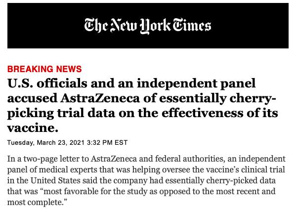 Američki regulatori: AstraZeneca koristi zastarjele podatke, efikasnost je niža nego što tvrde Slika_60