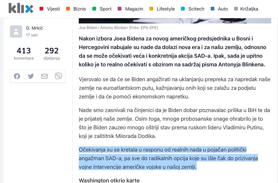 Ambasadori Kvinte i EU odgovorili Komšiću: Suzdržati se od stvaranja tenzija i okrenuti reformama Slika_61