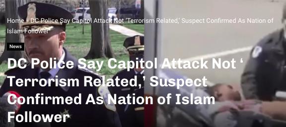 Crnac iz Nation of Islam izveo napad na Kongres, ubio policajca, ali to nije terorizam. Slika_64