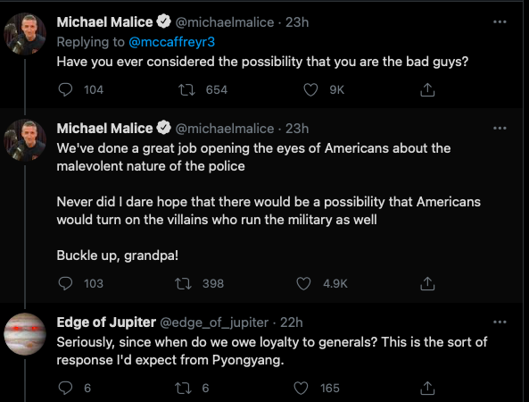 Umirovljeni Američki general na twitteru pozvao na likvidaciju Tuckera Clarlsona Slika_92