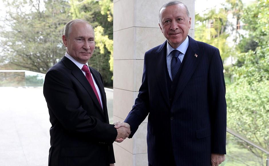 Rusko-Turski summit u Sočiju: Na stolu Sirija, Libija, Afganistan, Kavkaz i Balkan Ylextw10