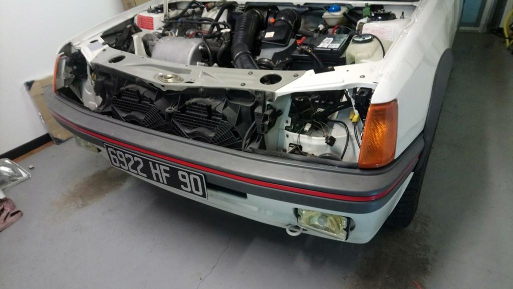 [90]  205 GTI 1L6 - 115cv - AM88 - Blanc Meije - Nouvelle Lionne au pays du Lion Dsc_4612