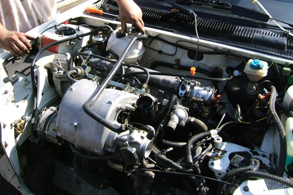[90]  205 GTI 1L6 - 115cv - AM88 - Blanc Meije - Nouvelle Lionne au pays du Lion Dscf5014
