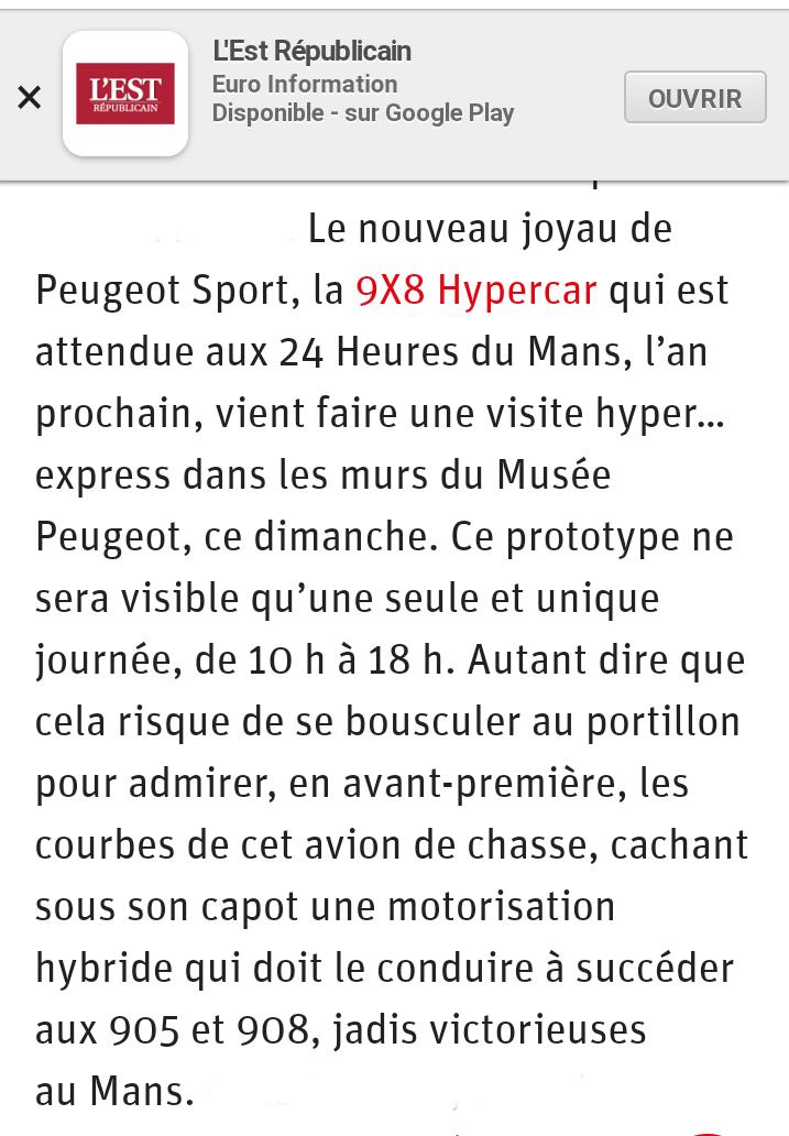 [25] Musée de l'Aventure Peugeot à Sochaux - Page 2 Screen10