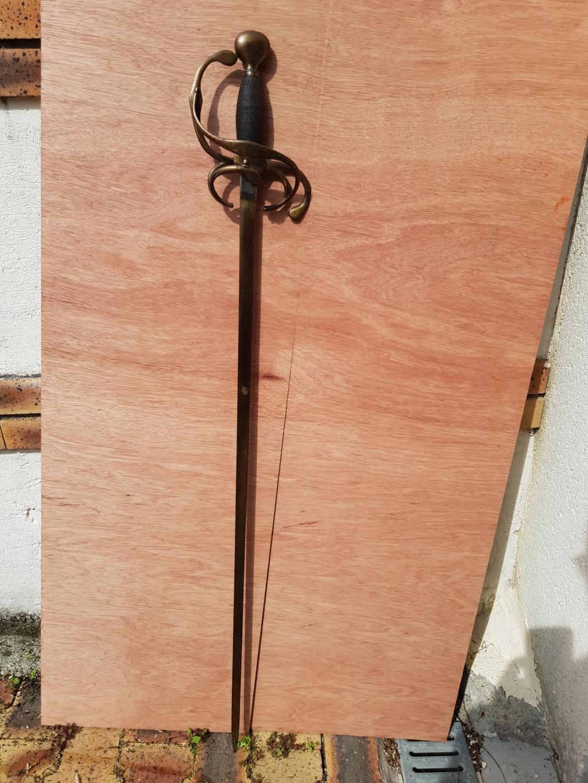Epée type violet le duc 2-110