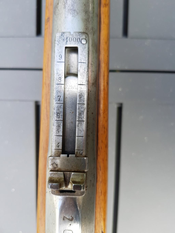 Datation d'une carabine modèle 1846  20210753