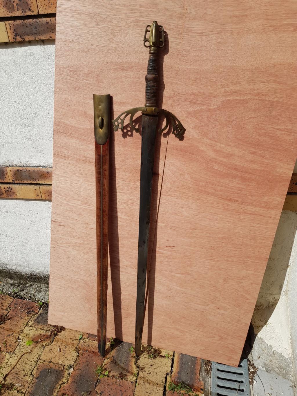 Epée type violet le duc 3-210