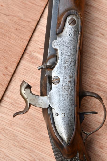 Carabine de chasse avec platine de la manufacture Impériale a Versailles Dsc_5137