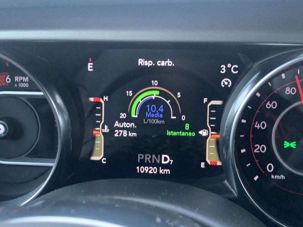 Quanti km reali ha la mia jeep 95e35910