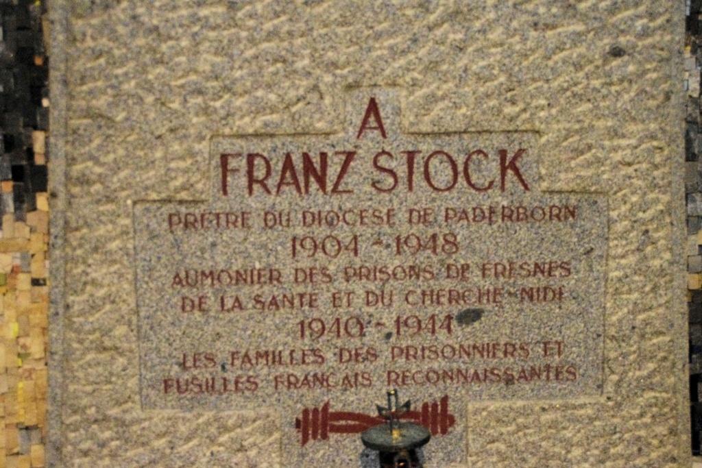 Saint-Jean-Baptiste de Rechevres - L'abbé Franz Stock  Saint-13