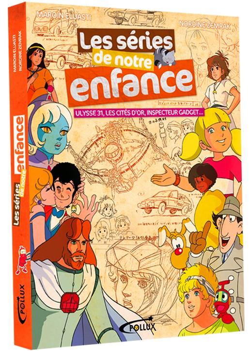 Projet de livre sur les séries de notre enfance Couver11