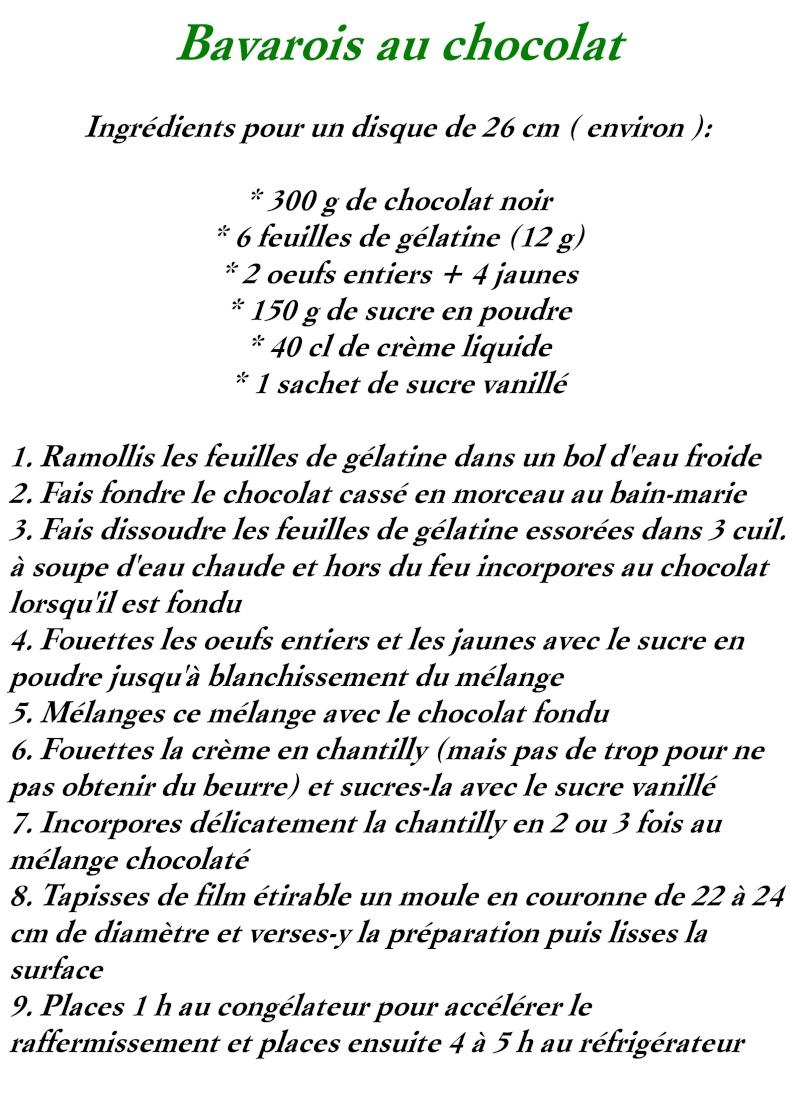 Bavarois Chocolat Bavaro10