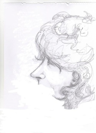 Avatar/autoportrait de Wanda Dessin13