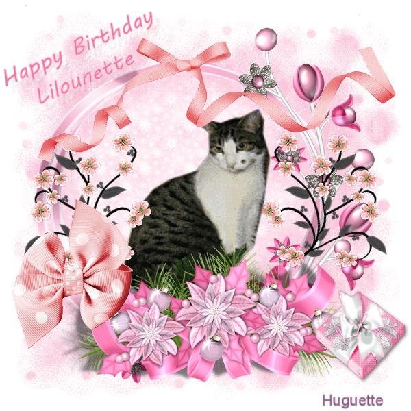 Joyeux anniversaire ma Lilounette chérie Rose10