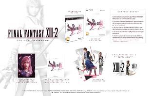 Préco final fantasy XIII-2 edition simple, collector et cristal Ffxiii11