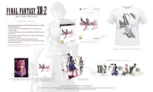 Préco final fantasy XIII-2 edition simple, collector et cristal Ffxiii13