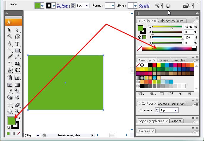 changer la couleur de fond de l'image à vectoriser Illu10