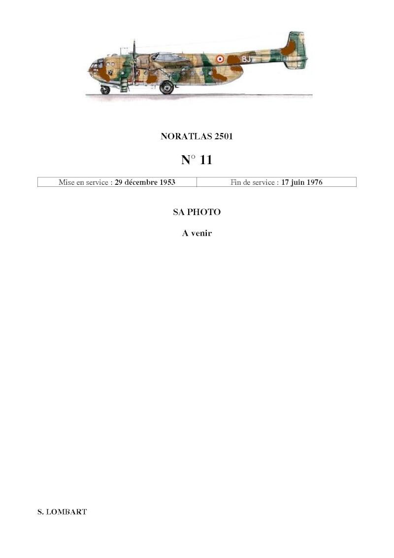 Noratlas n°11 N_1113