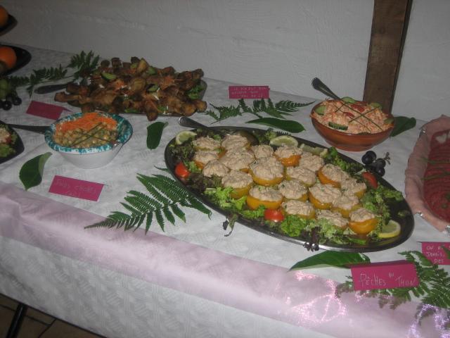 buffet mariage de Mickey 01124