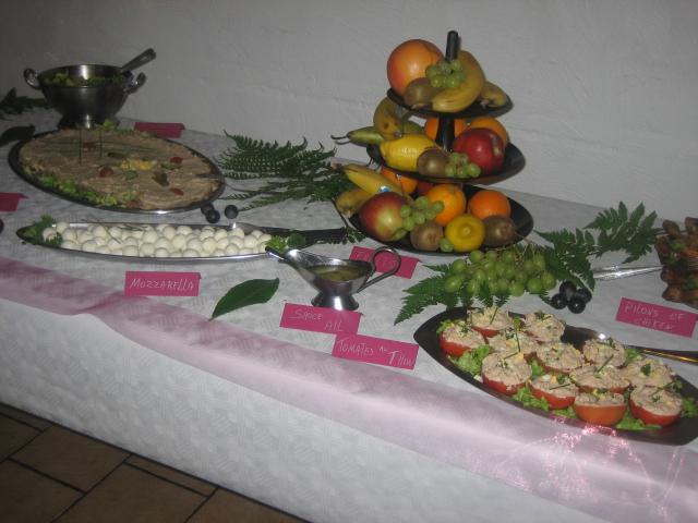 buffet mariage de Mickey 01223