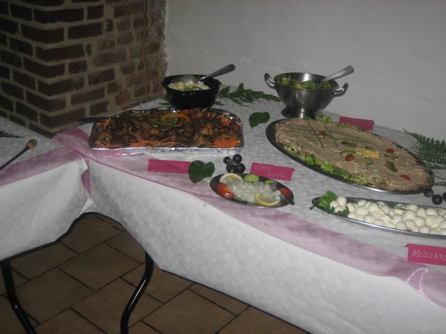 buffet mariage de Mickey 01324
