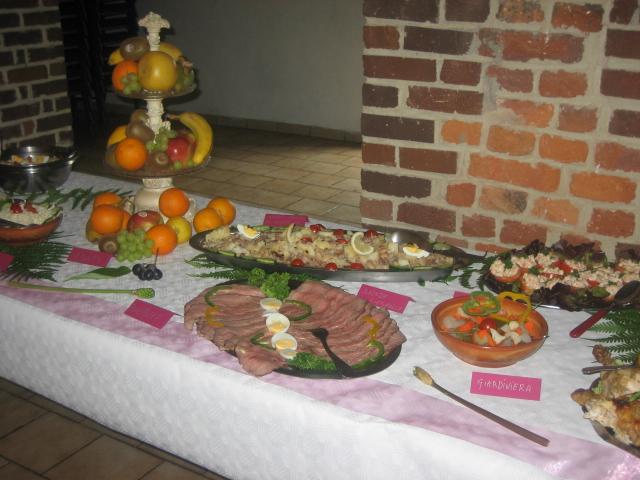 buffet mariage de Mickey 01619