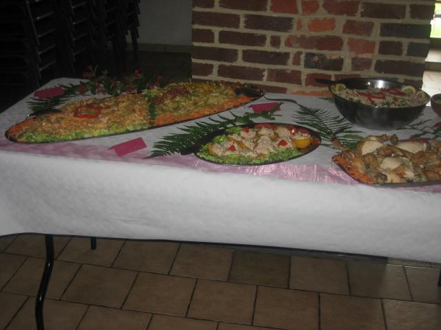 buffet mariage de Mickey 01822