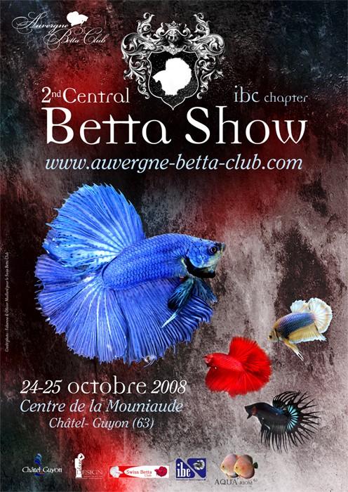 2nd Central Betta Show ! Affich11