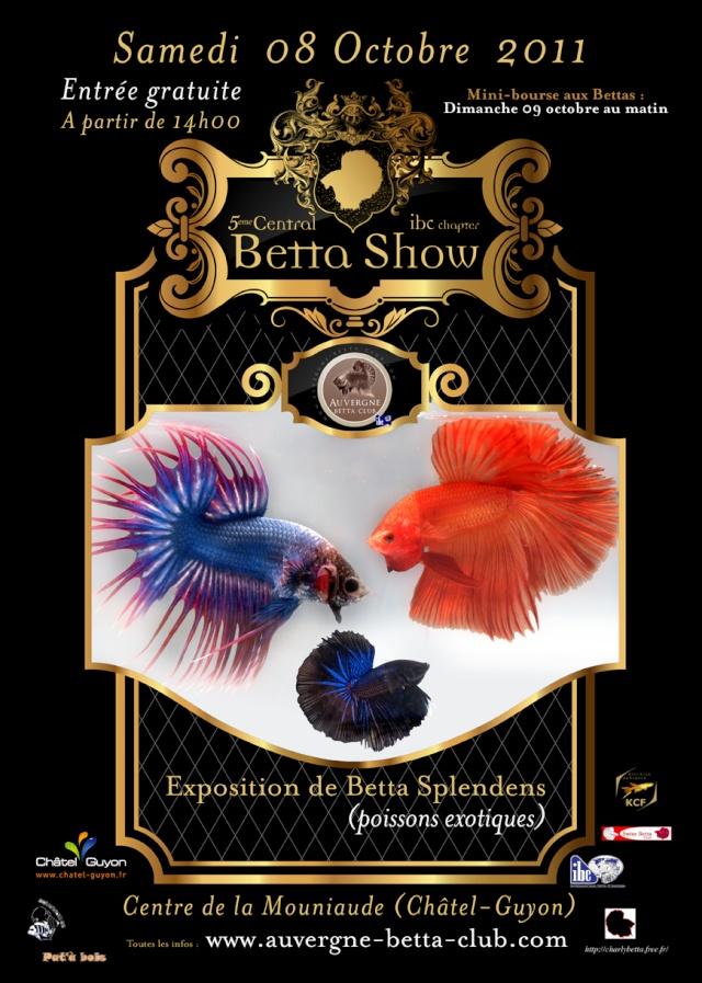 5eme CENTRAL BETTA SHOW : 07-08-9 Octobre Affich12