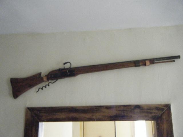 Deux de mes realisations, Arquebuse et pistolet 01810
