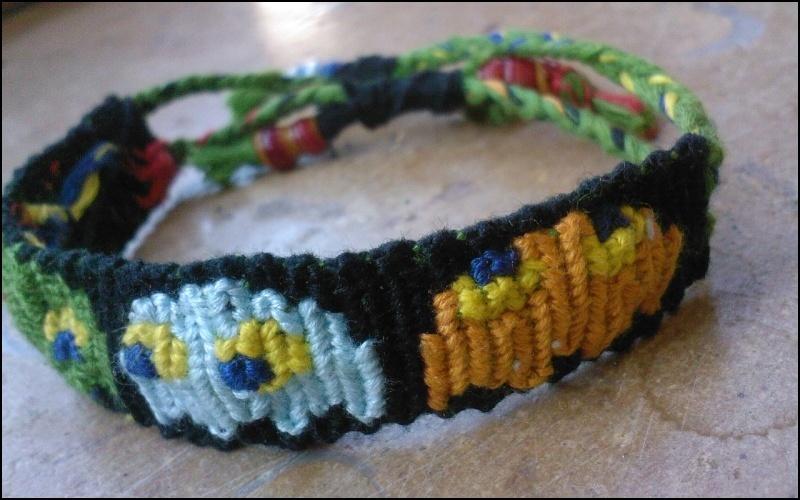 Méthodes esthétiques pour commencer/terminer vos bracelets 1210