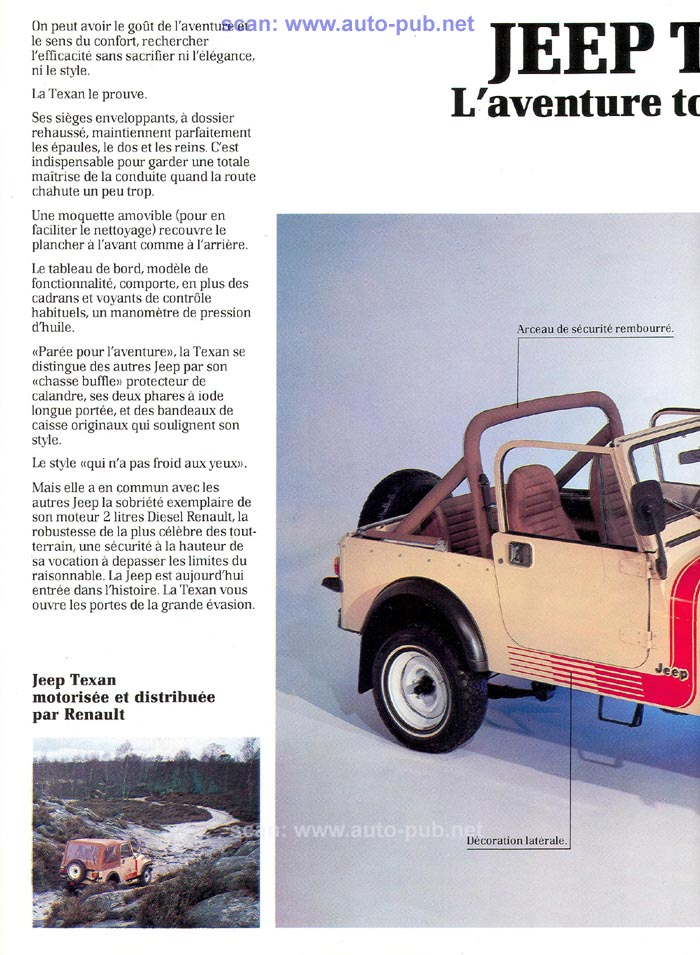 Jeep CJ7: différences entre versions - Page 2 Jeep_t11
