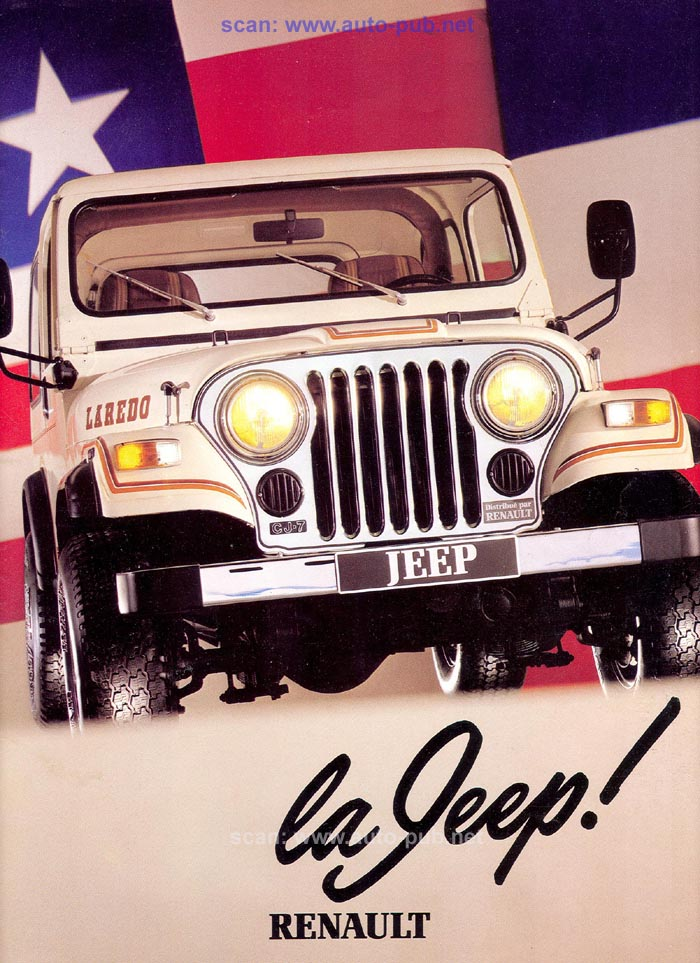 Jeep CJ7: différences entre versions - Page 2 Laredo10