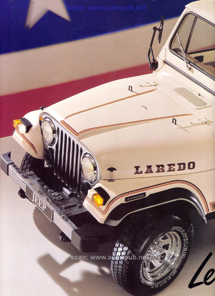 Jeep CJ7: différences entre versions - Page 2 Laredo11