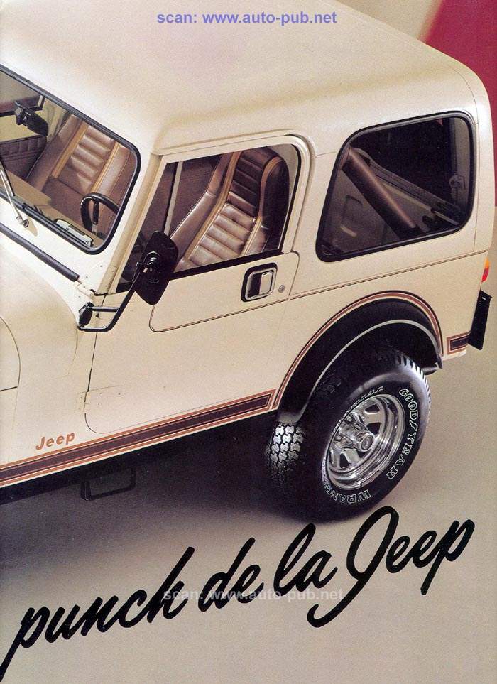 Jeep CJ7: différences entre versions - Page 2 Laredo12