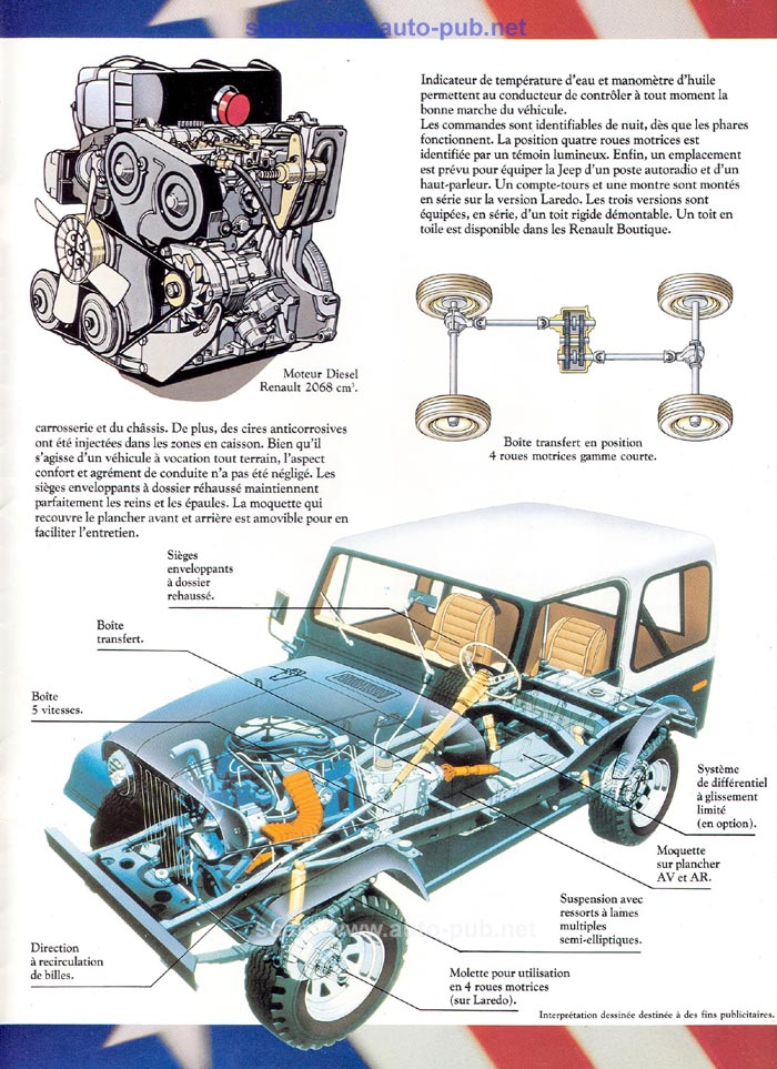 Jeep CJ7: différences entre versions - Page 2 Laredo18