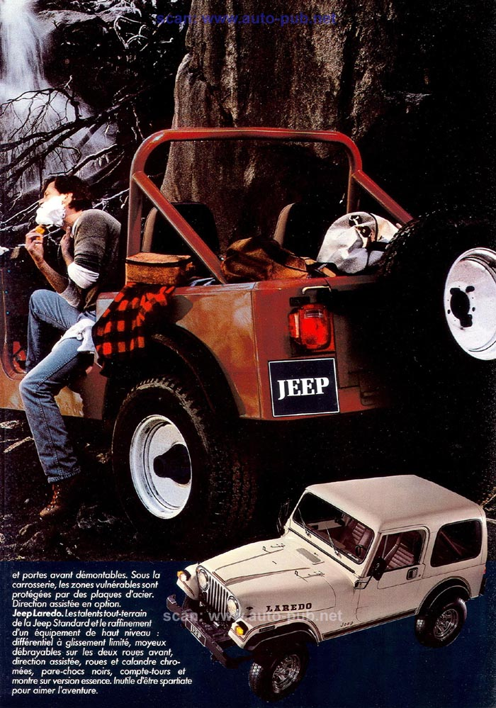 Jeep CJ7: différences entre versions - Page 2 Laredo23