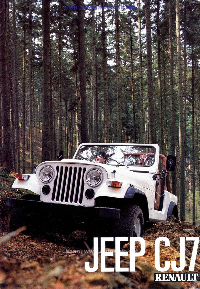 Jeep CJ7: différences entre versions - Page 2 Renaul10
