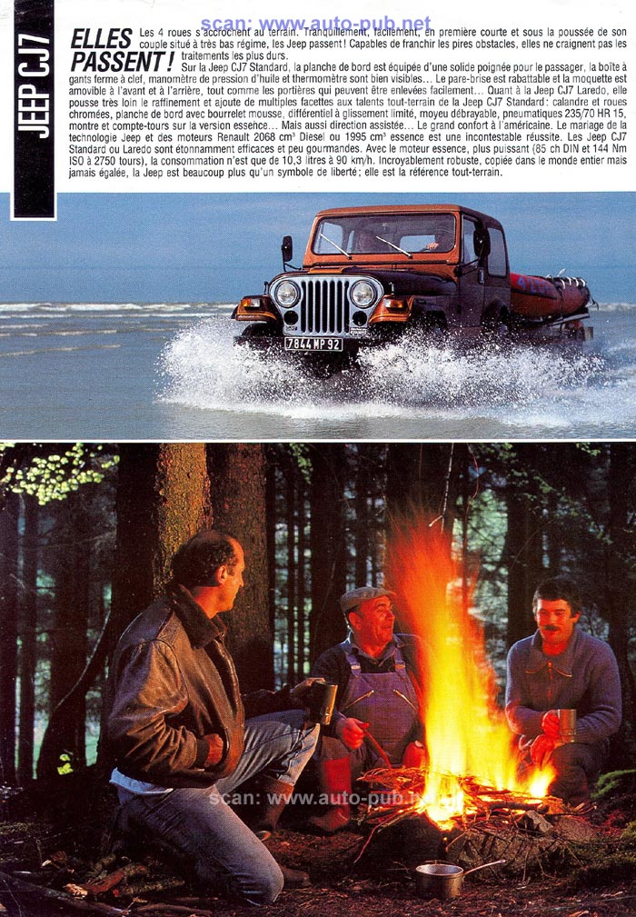 Jeep CJ7: différences entre versions - Page 2 Renaul11